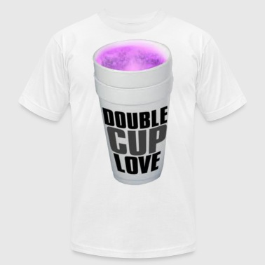 Double cup love. - Men's Fine Jersey T-Shirt
