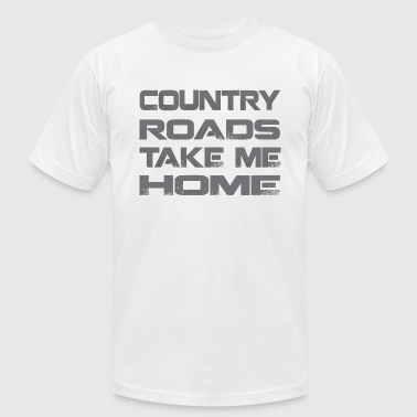 Country Roads Take Me Home - Men's Fine Jersey T-Shirt