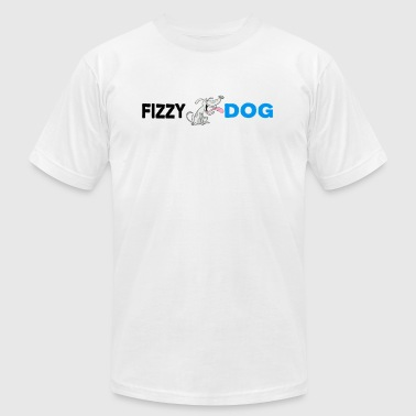 Fizzy Fizzy Dog Brewery - Men's Fine Jersey T-Shirt
