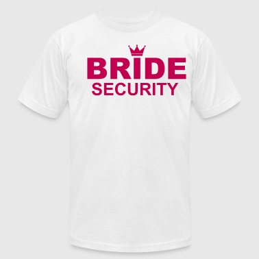 Bride Security - Men's Fine Jersey T-Shirt