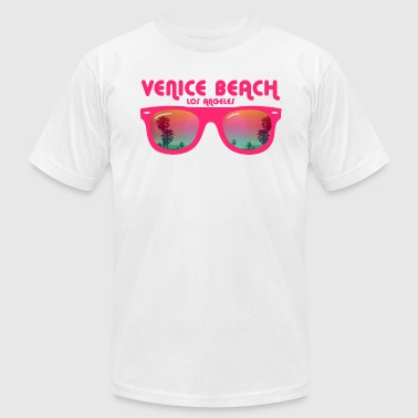 Venice Beach Los Angeles - Men's Fine Jersey T-Shirt