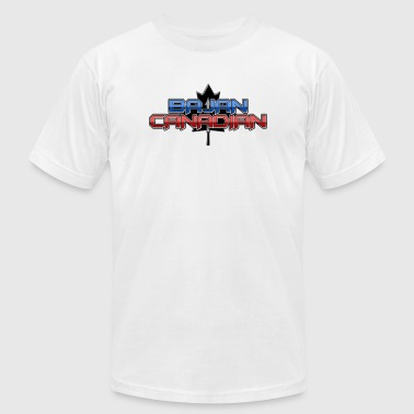 Bajan Canadian - Men's Fine Jersey T-Shirt