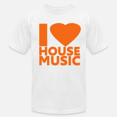 I Love House I Love House Music - Men's  Jersey T-Shirt