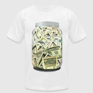 Cash Jar - Men's Fine Jersey T-Shirt