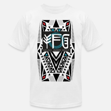 Tribal Designs Azteca Tee by YFG - Men's Fine Jersey T-Shirt