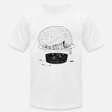 Brain Mind brain drain - free your mind - Men's  Jersey T-Shirt