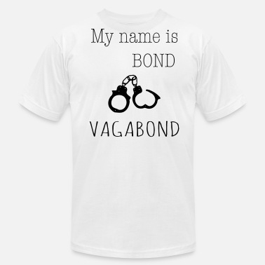 Vagabond My name is Bond - Vagabond 1c - Men's  Jersey T-Shirt