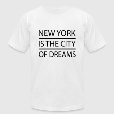 New York - Men's Fine Jersey T-Shirt