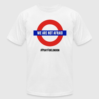 Stops Jihad War on terrorism. We are not afraid. - Men's Fine Jersey T-Shirt