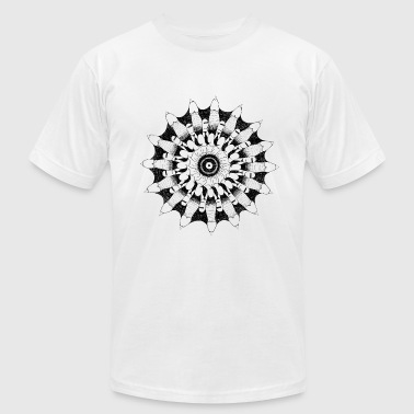 High virility mandala - Men's Fine Jersey T-Shirt