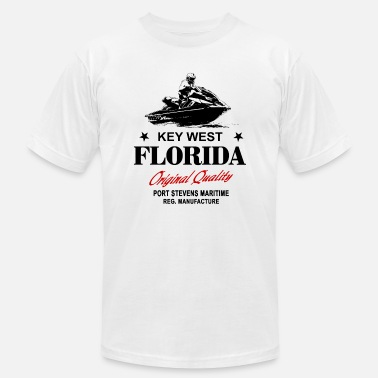 Jacksonville Florida Jet Ski - Key West - Florida - Men's  Jersey T-Shirt