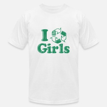 Recycle Boy And Girl I Recycle Boys Humor - Men's  Jersey T-Shirt