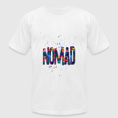 Nomad Jokes nomad - Men's Fine Jersey T-Shirt