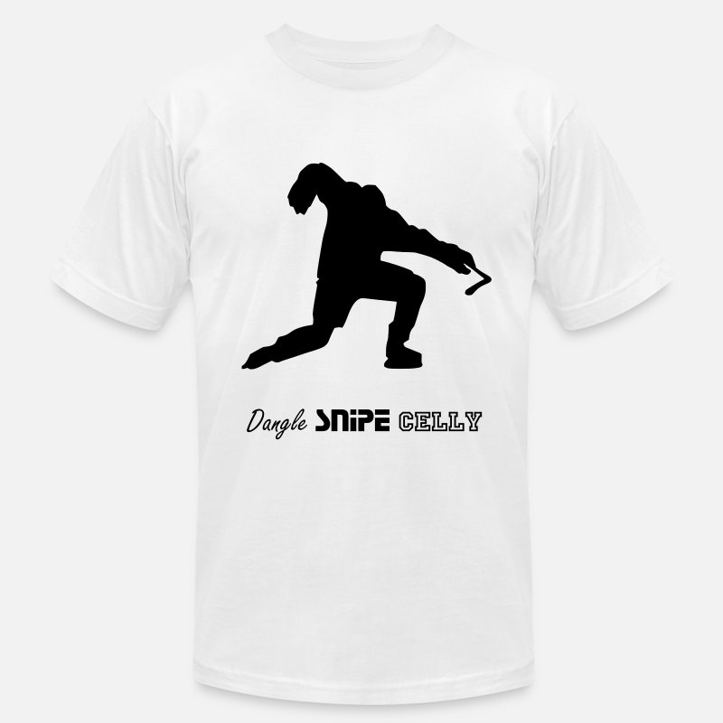 Hockey T-Shirts - Hockey Celly - Men's Jersey T-Shirt white