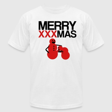 Merry XXXmas - Men's Fine Jersey T-Shirt