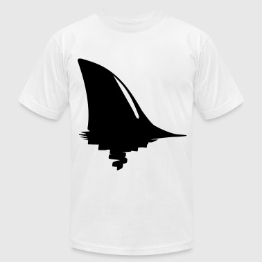 shark fin - Men's Fine Jersey T-Shirt