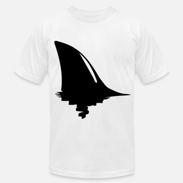 Fins shark fin - Men's  Jersey T-Shirt