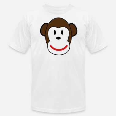 Sock sock monkey - Men's Jersey T-Shirt