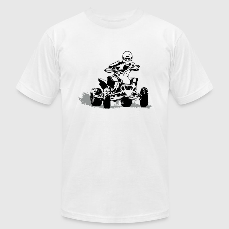 ATV - Quad -  Motocross - Men's Fine Jersey T-Shirt