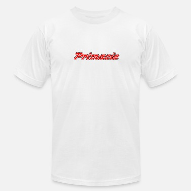 Primacy Primacie Name (Red) - Men's Fine Jersey T-Shirt