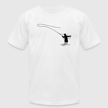 Fly Fishing - Men's Fine Jersey T-Shirt
