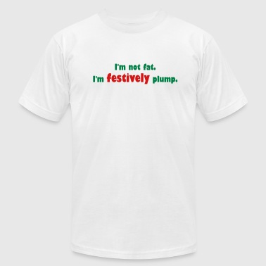 Festively Plump - Men's Fine Jersey T-Shirt