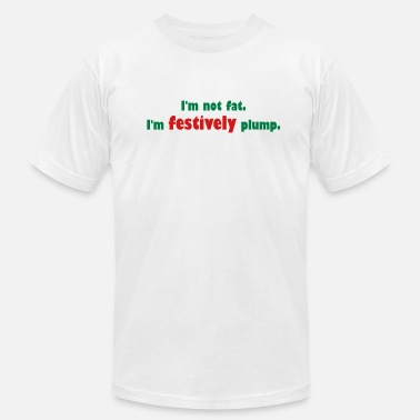 Plump Festively Plump - Men's Fine Jersey T-Shirt