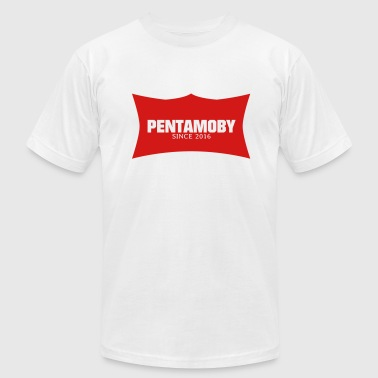 V Sign PENTAMOBY (v) - Men's Fine Jersey T-Shirt