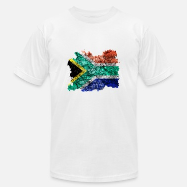 South South Africa Vintage Flag - Men's Fine Jersey T-Shirt