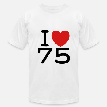 Bln Slogan Shirt - I Love Paris - J'aime 75 - Men's  Jersey T-Shirt