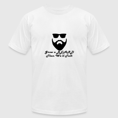 Grow A Beard - Men's Fine Jersey T-Shirt