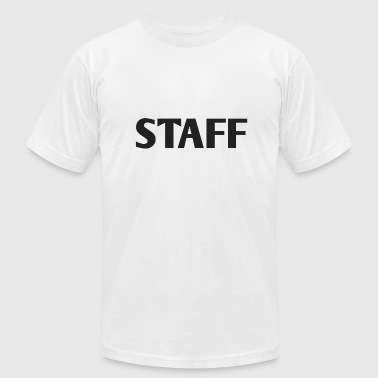STAFF - Men's Fine Jersey T-Shirt