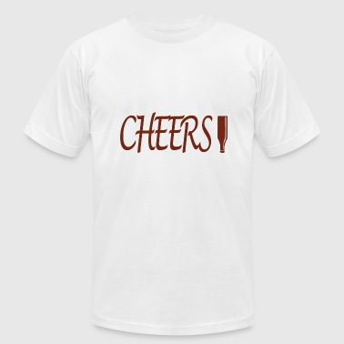 Cheers - Men's Fine Jersey T-Shirt