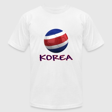 Team North Korea FIFA World Cup - Men's Fine Jersey T-Shirt