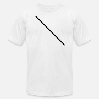 Cut Out Lines line,shears,cutting,line,cut,shears,diagonally - Men's  Jersey T-Shirt