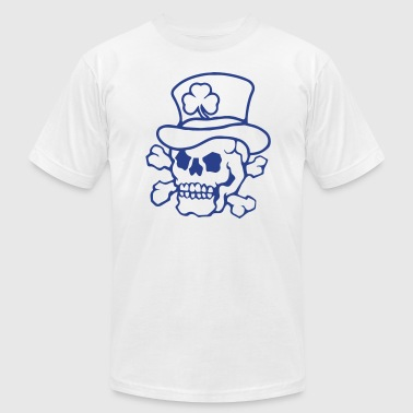 irish skull - Men's Fine Jersey T-Shirt