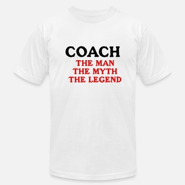 Coach Instructor Myth GYM  Legend - Men's  Jersey T-Shirt