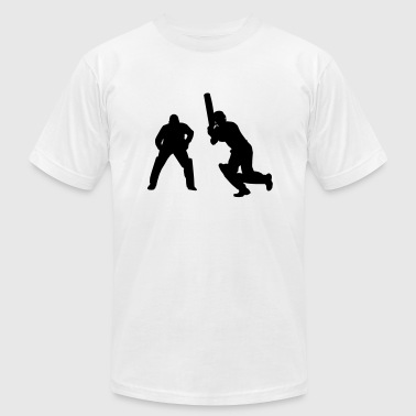 Cricket Players - Men's Fine Jersey T-Shirt