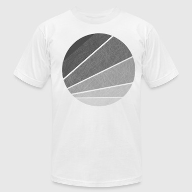 Distressed Circle - Men's Fine Jersey T-Shirt