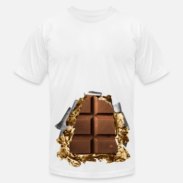 I Love Nutella six pack chocolate bar - Men's  Jersey T-Shirt