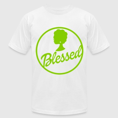 blessed - Men's Fine Jersey T-Shirt