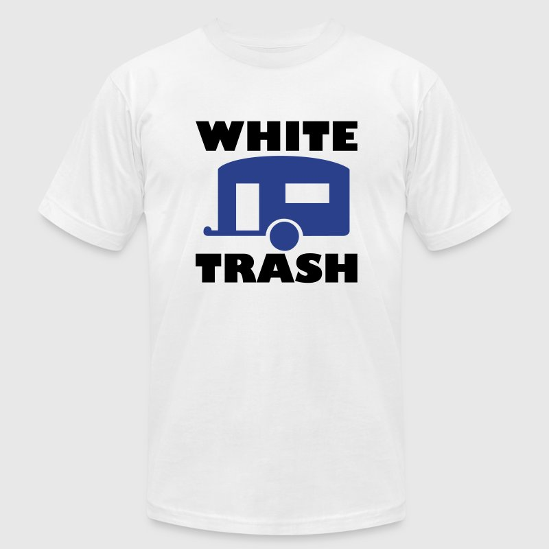 White trash - Men's Fine Jersey T-Shirt