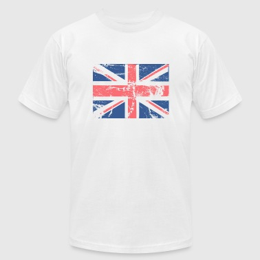 Vintage British FLAG - Men's Fine Jersey T-Shirt