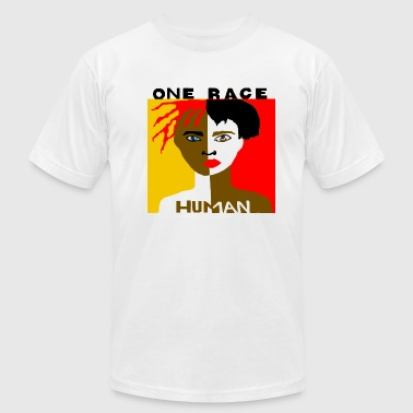 Shows respect for the human race. - Men's Fine Jersey T-Shirt