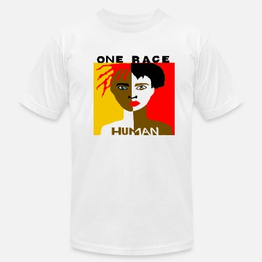 Shows respect for the human race. - Men's  Jersey T-Shirt