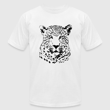Leopard - Safari - Men's Fine Jersey T-Shirt