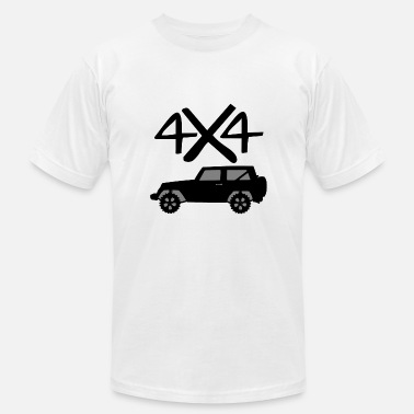 4x4 Jeep 4x4 Jeep - Men's Fine Jersey T-Shirt