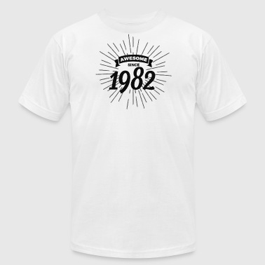 Awesome Since 1982 Awesome since 1982 - Men's Fine Jersey T-Shirt