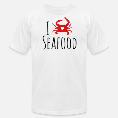 Seafood Restaurant Seafood Lover - Men's Fine Jersey T-Shirt