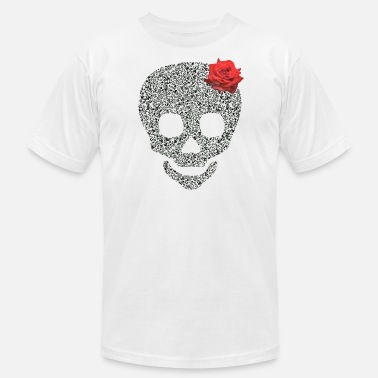 Skull Rose skull rose - Men's  Jersey T-Shirt